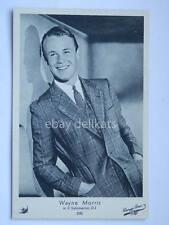 ELAH Warner Bros. WAYNE MORRIS cinema vecchia cartolina old post card