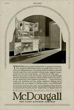 1920 McDOUGALL KITCHEN CABINETS AD / TEMPTING YOU TO PREPARE, FRANKFORT-INDIANA