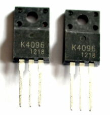 2 x units, 2SK4096 N Channel Power MOSFET 500V, 9A, TO-220, K4096   - ref:126