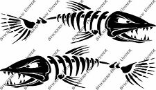 1mt Bone Fish Custom Boat Sticker JetSki Fishing Ally Craft Haines Sea-ray