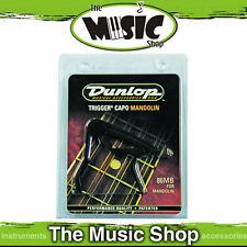 New Jim Dunlop Black Mandolin Trigger Capo - Clamp Style - J86M