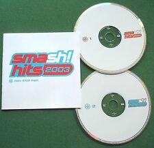 Smash Hits 2003 Non Stop Pop Kylie Blue Atomic Kitten Aaliyah Britney + CD x 2