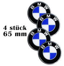 4St. x 65mm BMW SILIKON GEL FELGENAUFKLEBER RADKAPPEN AUFKLEBER NABENKAPPEN A 5