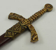 Knights Templar Sword Letter Opener Home/Office/Desk/Gift/Boss/Father/Present