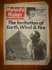MELODY MAKER 1979 MAR 10 EARTH WIND FIRE HARRISON CLASH