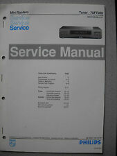 Philips 70 FT080 Tuner Service Manual