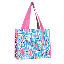 NEW - Market Bag - Lilly Pulitzer - Red Right Return
