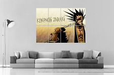 Zaraki Kenpachi Bleach Anime Manga Wall Art Poster Grand format A0