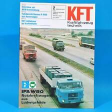 DDR KfT Kraftfahrzeugtechnik 2/1979 W 50 Barkas B 1000 Mitsubishi Sapporo BMW D