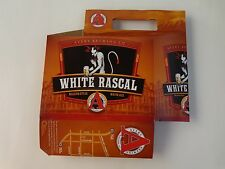 Beer Six Pack Holder (6-pack) ~*~ AVERY Brewing White Rascal ~ Boulder, COLORADO
