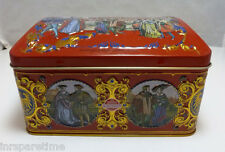 SCHUHMANN BAKERY NURNBERG GERMANY GINGERBREAD TIN MUSIC BOX - WHITE CHRISTMAS