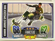 #025 Kanan Jarrus Speeder Bike - Star Wars Rebel Attax