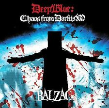BALZAC-DEEP BLUE: CHAOS FROM DARKISM (BONUS DVD)  CD NEW