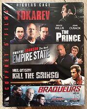 Coffret 5 BLU-RAY [Tokarev+The Prince+Empire State+Kill the Gringo+Braqueurs]