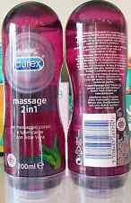 DUREX MASSAGE 2 IN 1 GEL MASSAGGIO CORPO E LUBRIFICANTE CON ALOE VERA