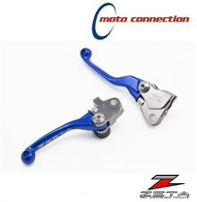 ZETA CNC BLUE FLEXIBLE LEVER SET SUZUKI RMZ250 RMZ450 2007 - 2017