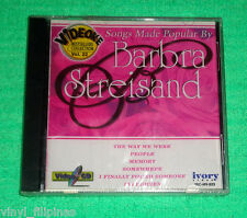 PHILIPPINES:SONGS AS POPULARIZED BY BARBRA STREISAND VCD VIDEOKE V.22