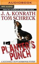 Planter's Punch by J. A. Konrath and Tom Schreck (2016, MP3 CD)