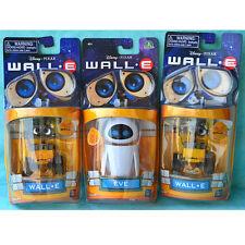 3pcs Disney Pixar Wall. E&Eve Robots Action Figure Toys Set Kids Gift Boxed Xmas