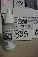 PINTURA Model HOBBY 17ml BOTELLA VAL885 AV Vallejo Modelo Color - Pastel Verde