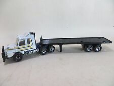 MATCHBOX CONVOY SCANIA T142 AND ARTICULATED TRAILER LORRY. VINTAGE. GOOD