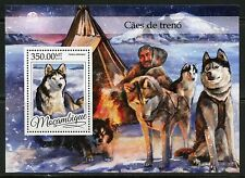 MOZAMBIQUE 2016 SLED DOGS SOUVENIR  SHEET MINT NH
