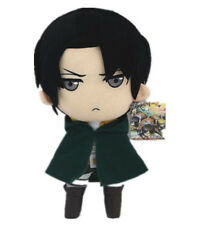New Attack On Titan Rivaille/Levi Plush Doll Toy Soft 12 inch Xmas Gift