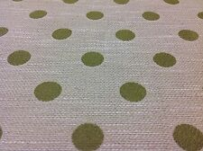 Cowtan Tout/Jane Churchill Polka Dot Fabric- Helston/Green- 5.15 yds (J477F-04)