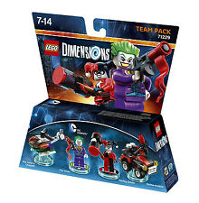 LEGO Dimensions - Team Pack - DC Comics - The Joker + Harley Quinn usw. | 71229