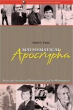 Mathematical Apocrypha: Stories and Anecdotes of Mathematicians and th-ExLibrary