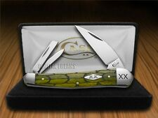 CASE XX Tortoise Shell Olive Green Seahorse Whittler 1/500 Pocket Knife