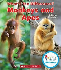 Rookie Read-About® Science What's the Difference?: Monkeys and Apes by Lisa...
