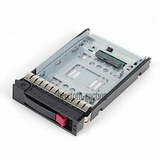 "2.5"" 654540-001 Adapter + 3.5"" 373211-001 Tray Caddy For HP ProLiant ML370 G6 G5"