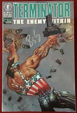 The Terminator: Enemy Within (1991) #1 - Signed By Simon Bisley - Dark Horse