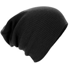Men Women Fashion Knit Baggy Beanie Oversize Winter Hat Ski Slouchy Chic Cap NEW