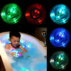 Baby Bathtime Bath Tub Fun Funny Multi Coloful Color Changing LED RGB Light Toy