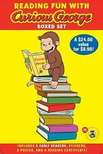 Green Light Readers Level 1: Reading Fun with Curious George Boxed Set (CGTV...