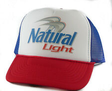 Vintage Natural Light beer Trucker Hat mesh hat snapback hat red white blue