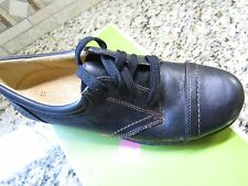 NEW NATURALIZER MUSE BLACK OXFORD LEATHER SHOES WOMENS 6  FREE SHIP