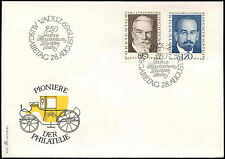 Liechtenstein 1969 Pioneers Of Philately FDC First Day Cover #C16567