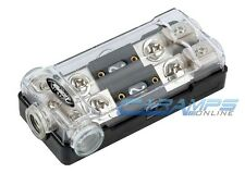 XSCORPION PLATINUM ANL FUSED DISTRIBUTION BLOCK 0/2G IN TWO 2/4 GAUGE AWG OUT
