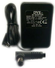 DVE 9v 1a/1000mA AC Mains UK Power Supply Adapter for Belkin Routers F5D7230