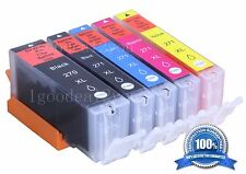 5 Pack PGI-270XL CLI-271XL Combo Ink Cartridge For Canon PIXMA MG6821 Printer