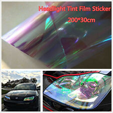 200×30cm Chameleon Neo Clear Color Headlight Taillight Fog Light Vinyl Tint Film