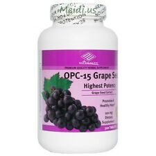 OPC-15 Grape Seed Extract (300 Tablets / 100 MG) highest potency