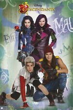 DISNEY'S DESCENDANTS - MOVIE POSTER / PRINT (CHARACTERS)