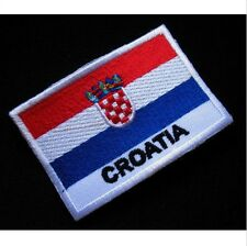 FLAG OF CROATIA CROAT CROATIAN NATIONAL FLAG Sew on Patch