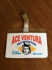 ACE VENTURA PET DETECTIVE ID BADGE, Fancy Dress party,  Costume Play .80s