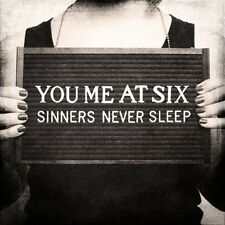 Sinners Never Sleep - You Me At Six (2012, CD NIEUW)