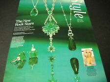 LADY GAGA Emeralds are The New Rock Stars for style 2016 PROMO POSTER AD